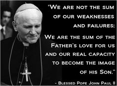 Happy Feast Day Of St John Paul Ii Please Pray For Us Catholic