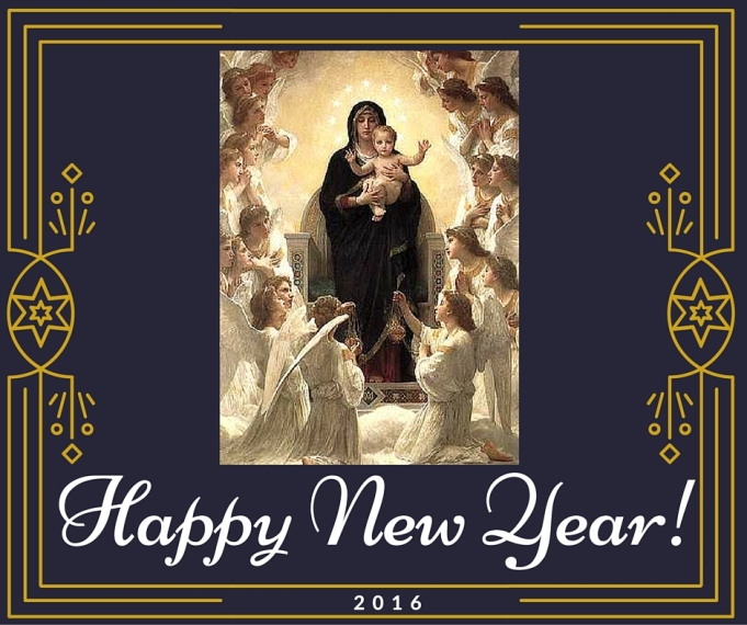 #2017 #HappyNewYear #MaryMotherofGod