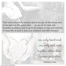 Humanae Vitae- 2