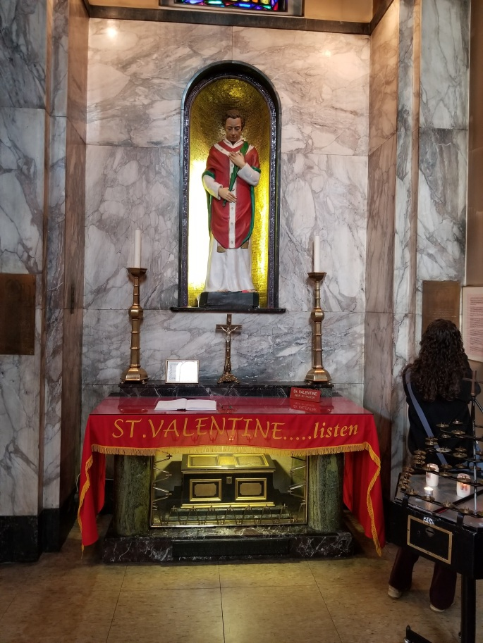 St. Valentine Shrine