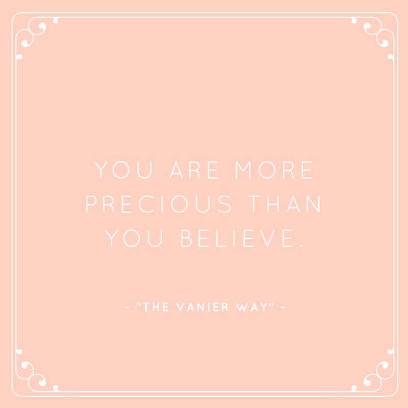The Vanier Way Qoute